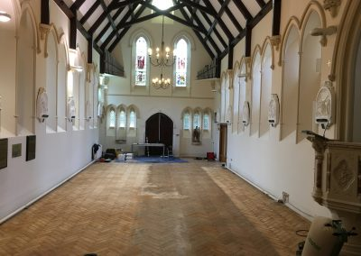 002_historic_heritage_old_Victorian_pine_herringbone_unique_restoration_church_Twickenham_005