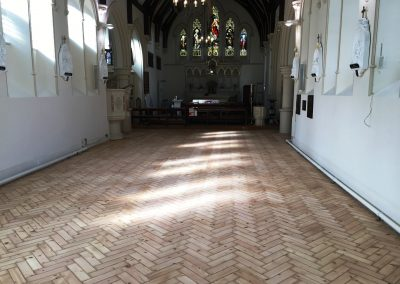 002_historic_heritage_old_Victorian_pine_herringbone_unique_restoration_church_Twickenham_010