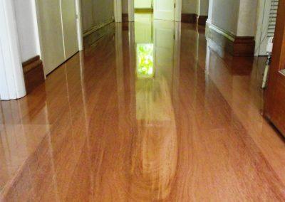 Unique Mahogany Floor – Leatherhead Surrey