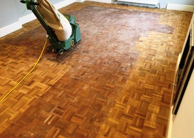 007_r_finger_parquet_teak_traditional_heritage_sanded_sealed_solid_sanding_varnished_Surrey