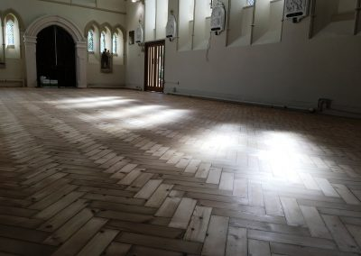 016_old_Victorian_herringbone_block_parquet_traditional_historical_restoration_church_Surrey