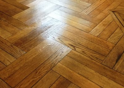 026_r_herringbone_restoration_old_victorian_oak_heritage_sealed_varnished_natural_Surrey_wood_flooring