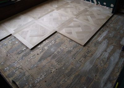 013_versailles_panels_installation_process_solid_white_european_oak_sanded_wood_flooring_Surrey