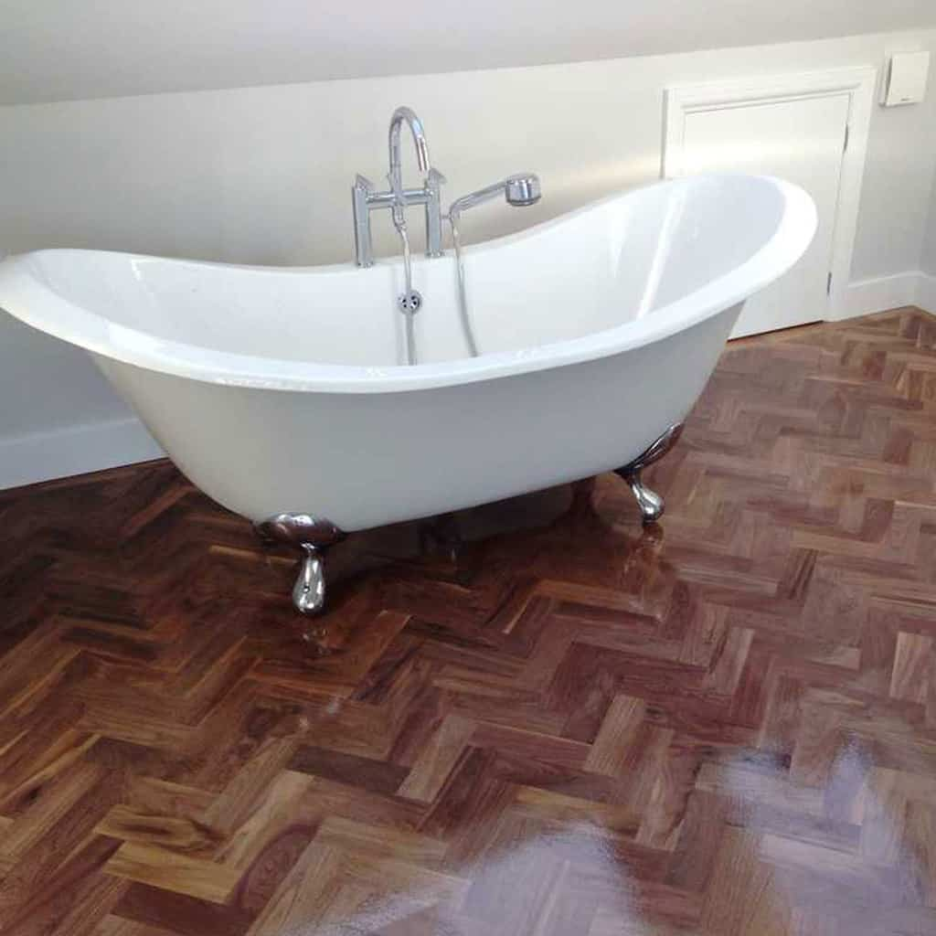 Herringbone Wooden Floors